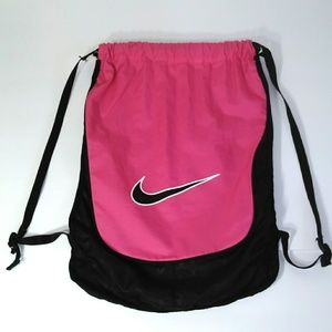 Nike draw string gym backpack bag